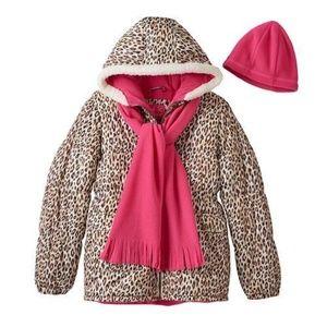 Pink Platinum 3-pc coat set